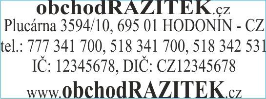 Rozmiar 18x47 mm - wzor 2 || sklepPIECZATEK.pl