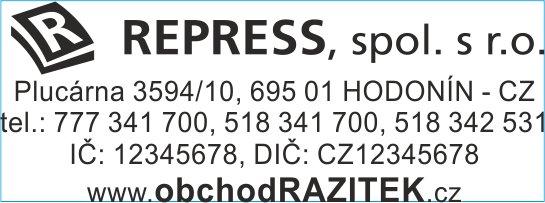 Rozmiar 18x47 mm - wzor 3 || sklepPIECZATEK.pl