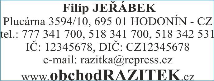 Rozmiar 23x59 mm - wzor 1|| sklepPIECZATEK.pl