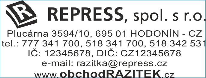 Rozmiar 23x59 mm - wzor 3 || sklepPIECZATEK.pl