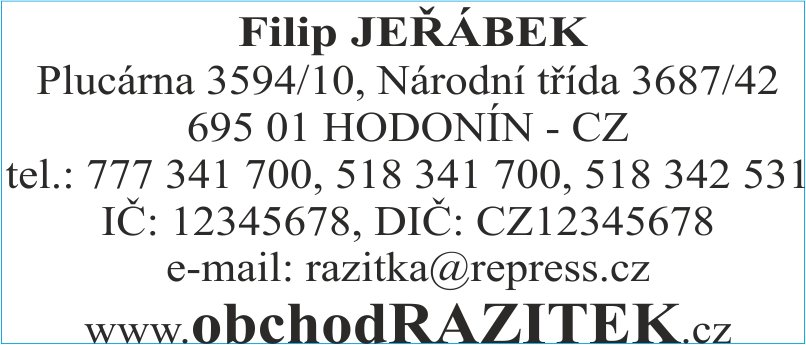 Rozmiar 30x69 mm - wzor 1|| sklepPIECZATEK.pl