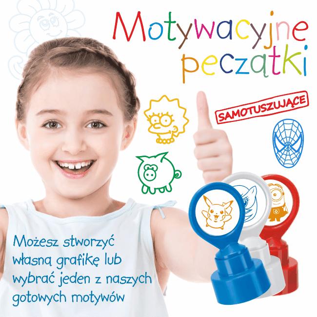 motywacyjna pieczatka || sklepPIECZATEK.pl